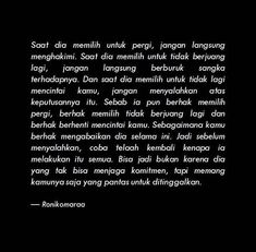 Simple Quotes, Love Me Quotes, Sad Quotes, Woman Quotes, Life Quotes, Cinta Quotes, Unspoken Words, Quotes Galau, Love Facts