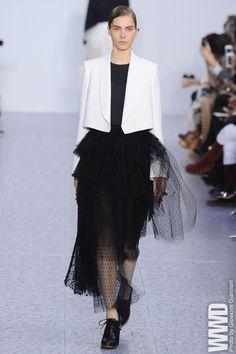 blazer + tutu dress