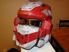 Life-size Spartan-IV Helmet - Halo 4 Cosplay