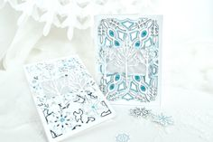 """""""Winter Magic"""" card set by Michelle Zerull for #EchoParkPaper Echo Park Paper, Winter Magic, Artsy, Albums, Projects, Design, Log Projects, Blue Prints"""