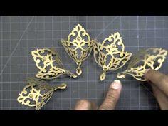 APG - Filigree Flower/Bouquet  ❤❤❤❤ VIDÉO by Bekka Feeken - Uses Spellbinders Damask Motifs