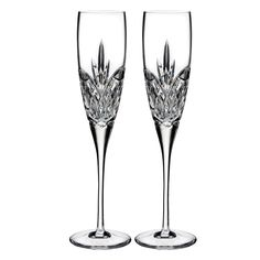 Toast the happy couple with the exquisite Love Forever Toasting Flutes from Waterford. An elegant symbol of enduring love and everlasting commitment, the flutes feature a sleek, pulled stem and unique cutting pattern in brilliant Waterford crystal. Flute Champagne, Best Champagne, Crystal Champagne, Champagne Glasses, Crystal Glassware, Waterford Crystal, Glass Crystal, Flute Glasses, Best Man Speech