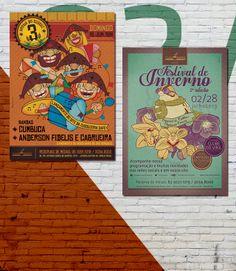 Cartazes Domingo Cultural da Cuscuzeria Café: Arraiá do Cuscuz 3ª Edição // Festival de Inverno 2ª Edição [Especial de Caldos e Sopas na Caneca].