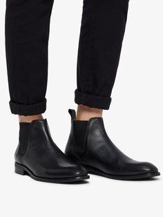 8bb9f9210bc252 Bianco Herren Leder Chelsea Boots für 129