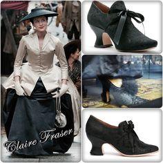"Claire Fraser's Shoes : Outlander Episode 206 (MORE on ""OUTLANDER Costumes, Music, Videos, BTS, Merchandise"" Board.)"