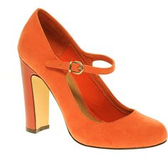 Asos Suzie Mary Jane Patent Heel Court Shoe (2.020 RUB) ❤ liked on Polyvore featuring shoes, pumps, heels, orange, sapatos, women, high heel shoes, patent leather mary jane pump, maryjane pumps and high heel mary janes