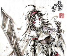 Arte Online, Online Art, Female Anime, Female Art, Sword Art Online Yuuki, Manga Anime, Sword Art Online Wallpaper, Good Anime Series, Anime Crossover