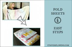 How to Fold a Fitted Sheet from It's Overflowing