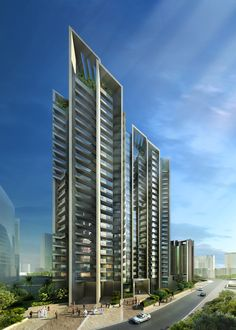 Reem Island Residential Towers | Projects | Foster + Partners