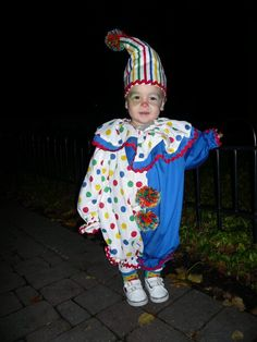 Baby boy/toddler clown costume
