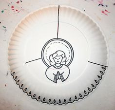 1000 Images About Paper Plate Angels On Pinterest Paper