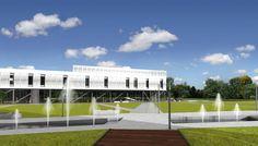 Centrum Technologiczne - tereny rekreacyjne.