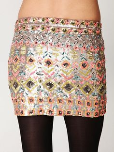 Come in today for this Glitzy skirt by Free People
