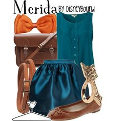 """Merida"" by lalakay on Polyvore disney"