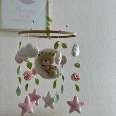 Boho Baby Mobile Girl  Nursery Decor Girl  Woodland Nursery | Etsy