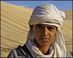 berber boy of the sahara .... -    The indigenous Berbers, conquered by the invading Arabs of the 7th Century, make up only 1% of Tunisia's population today ... though 50% or more o...