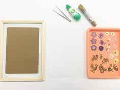 押し花で簡単おしゃれなクリアウェルカムボードの作り方by ARCH DAYS編集部