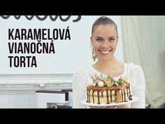 KARAMELOVÁ VIANOČNÁ TORTA   SLADKÁ ŠKOLA 12 - YouTube Baking Videos, Food Videos, Bakery, Cheesecake, Youtube, Cookies, Crack Crackers, Cheesecakes, Biscuits