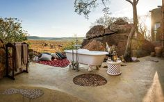 What better way to ensure a memorable engagement than by getting down on one knee at one of these luxury safari lodges?