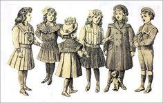 Late 1800s Children's Fashions