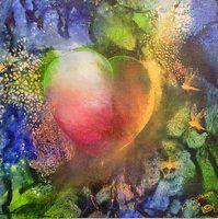 heart of djungle Art, Mythology, Painting