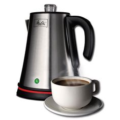 (click twice for updated pricing and more info) Melitta - 6 Cup Coffee Percolator #tea_kettles #coffee_brewing http://www.plainandsimpledeals.com/prod.php?node=35011=Melitta_-_6_Cup_Coffee_Percolator_-_40191#
