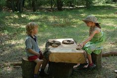 Ideas for adding natural elements to your outdoor play space - Part 2
