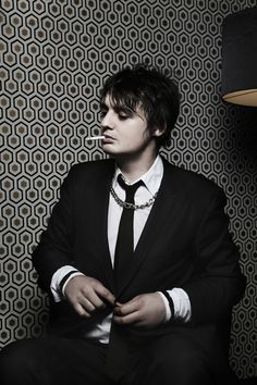 Pete Doherty by Pauline Darley, via Behance