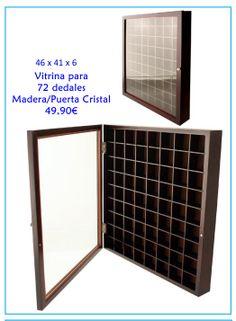 Vitrina para dedales Free Graphics, Magazine Rack, Cabinet, Storage, Furniture, Home Decor, Shopping, Cabinets, Crystals