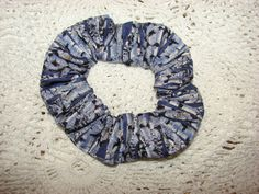 Purple Blue ASPEN Trees Fabric Handmade Hair by coloradocntry