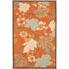You'll love the Ginger Orange Area Rug at Wayfair - Great Deals on all Rugs  products with Free Shipping on most stuff, even the big stuff.