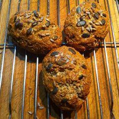 Nyomtasd ki a receptet egy kattintással Vegetarian Recipes, Healthy Recipes, Pan Bread, Yams, Bread Recipes, Bakery, Muffin, Food And Drink, Vegan