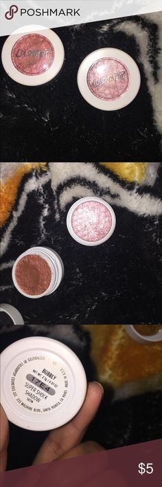 Colourpop Shimmery eye shadows Colourpop Makeup Eyeshadow
