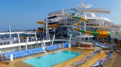 B-Roll footage of Perfect Storm onboard Harmony of the Seas.
