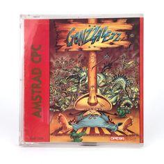 GONZZALEZZ / OPERA SOFT ESPAÑA 1989 AZPIRI MEXICAN AMSTRAD CPC 664 6128 DISKETTE