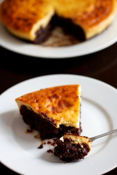 Flans, clafoutis, fars & co Gluten Free Desserts, Easy Desserts, Delicious Desserts, Dessert Recipes, Fat Foods, No Sugar Foods, Confort Food, Pudding Cake, Creative Food