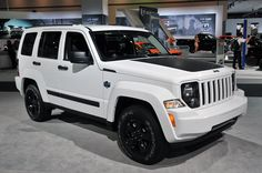 My new baby - Jeep Liberty Arctic Edition