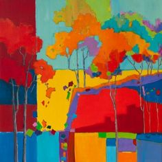 Autumn Brights II--Carla Spence