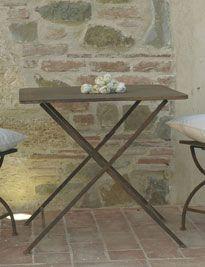 Tavolino brunito