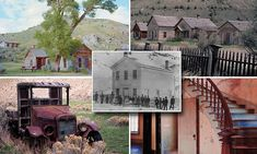 Abandoned Montana: Historic Gold Rush town lies empty in all its ghostly glory