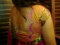 latest blouse designs for ocassion wear neck designs Cutwork Blouse Designs, Patch Work Blouse Designs, Pattu Saree Blouse Designs, Simple Blouse Designs, Stylish Blouse Design, Blouse Back Neck Designs, Kurti Neck Designs, Latest Blouse Patterns, Designer Blouse Patterns