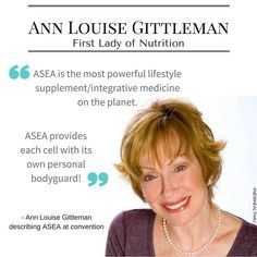 Ann is going to update her 30 books to include information on ASEA's first to market, heavily patented Redox technology.   To learn more text  MAGIC  to 210-538-2870