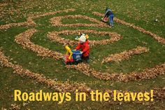 Leaf Maze and Labyrinth for Kids - Happy Hooligans Outside Activities, Outdoor Activities For Kids, Toddler Learning Activities, Autumn Activities, Craft Activities, Outdoor Learning, Camping Activities, Outdoor Fun For Kids, Outdoor Play