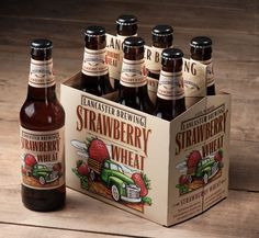 Lancaster Brewing - Strawberry Wheat. mmm neeed to try!