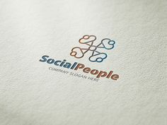 Social People Logo by CreativeDezing on @graphicsmag