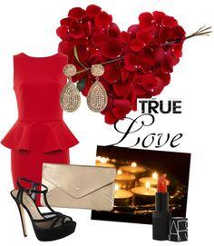 """be my valentine"" by ramissa on Polyvore"