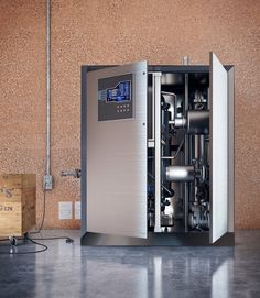 """Imagine having a fridge-sized box in your home that generates and stores electricity, heats and cools the house, provides hot water and churns out oxygen and hydrogen to use or sell. New Atlas spoke to two of the minds behind this potentially game-changing """"Swiss army knife"""" of energy production."""