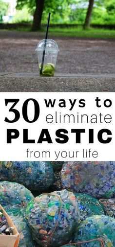 Plastic has found its place and taken over! In an effort to live more green, mor… Plastic has found its place and taken over! In an effort to live more green, more sustainable, and thoughtfully, here are 30 ways to eliminate plastic from your life! Go Green, Green Life, Plastik Recycling, No Waste, Reduce Waste, Plastic Waste, Plastic Plastic, Plastic Spoons, Plastic Bottles