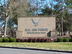 Eglin Air Force Base-- loved this place!! Right on the water in sunny Florida, what's not to love?! OK, the cockroaches!