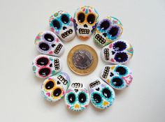 Broches Sugar Skulls | CoraStore